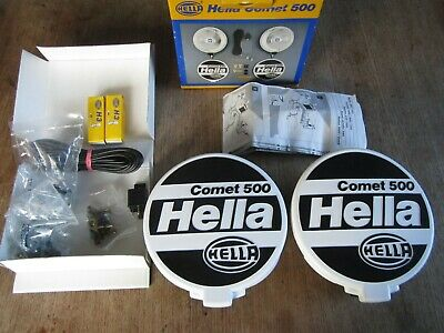 Phare feux aditionnels HELLA comet 500 youngtimer gti golf 205 bmw volkswagen gt