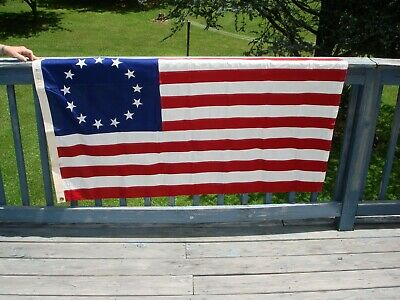 Valley Forge Co.colonial 13 Star Betsy Ross Flag 3' X 5' 100% Cotton