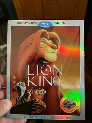 Brand New DISNEY THE LION KING (Blu-ray + DVD - No Digital) NEVER WATCHED MUST !