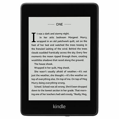 Amazon Kindle Paperwhite eReader 2018 8GB 6 Inch Display Special Offers Black