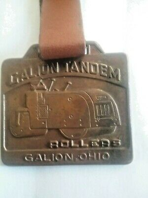 Galion Tandem Double Sided, Rollers & Gallion Motor Graders Watch Fob W/strap