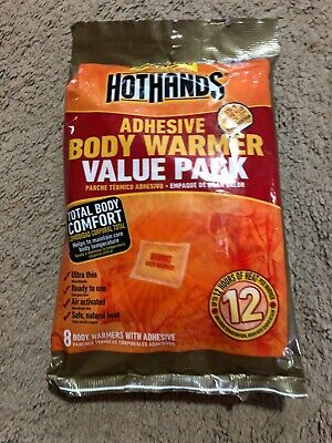Hothands Adhesive Body Warmer 12 Pack