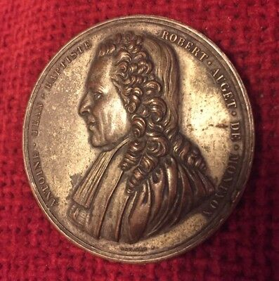 Table Medal copper French signed F. Gayrard named Marie Paupy dated 1901