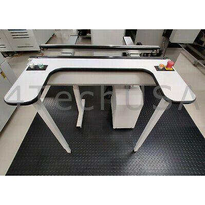 "Universal Instruments PCB Inspection Conveyor 39"" Model# 5362i W/ Inspect"