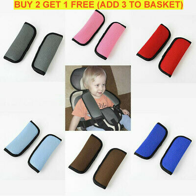 Baby Pushchair Shoulder Pads Pram Safety Car Seat Belt Strap Cover Harness Pad
