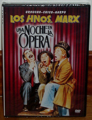 The Marx Brothers Una Night en La Opera DVD New Sealed Comedy (Unopened)