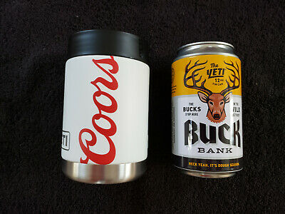 New Yeti Coors Light Beer Rambler Colster 12 Oz Can Buck Bank
