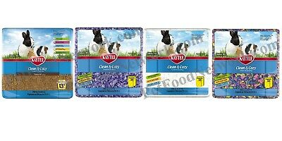 Kaytee Clean & Cozy Bedding asst Color 12.3L   Free Shipping