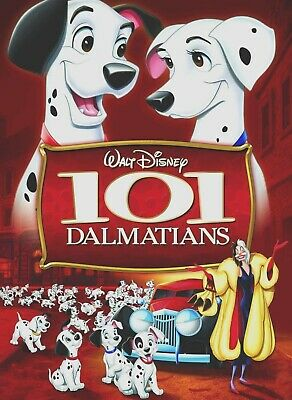 101 Dalmatians - Disney (Blu-ray, DISK ONLY, 2015) Animated