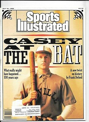 July 18 1988 Sports Illustrated ~ CASEY AT THE BAT What Happened 100 years ago