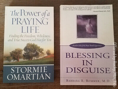 Christian Book Lot~Blessing In Disguise~Power Of A Praying Life~Tale Of 3 Kings