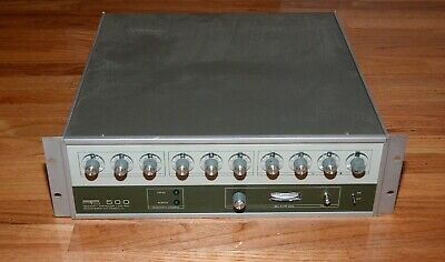 PTS 500 1 MHz to 500 MHz  Frequency Synthesizer - Programmed Test Sources