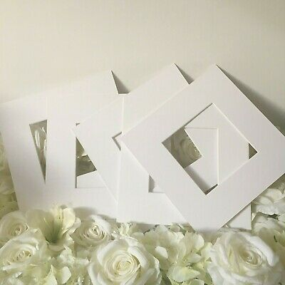 10x IKEA Ribba Mounts For 23x23cm Frames | Pack of 10 | Mounts ONLY (Repackaged)