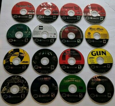 Lot Of 14 UNTESTED GameCube Games