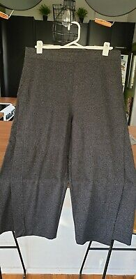 TS Taking Shape ,  GREY 3/4 Wide Leg Pants size 16