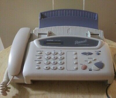 Brother FAX-560 personal plain paper fax machine, phone and copier