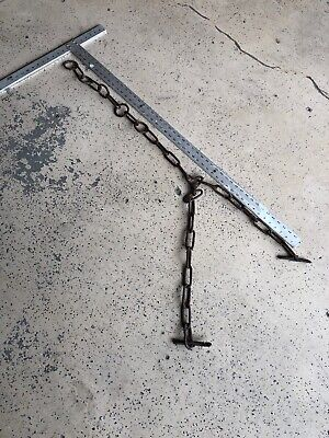 Huge  Vintage Cow Chain / Old Farm Tool (003