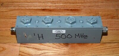 TRILITHIC H4CC500/X9-3-AB 500MHz Cavity Filter