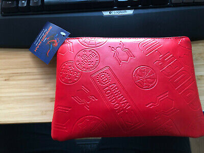 United Airlines Spider Man Business Class Amenity Kit Limited Edition? Red