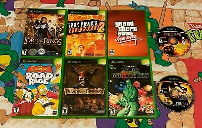 XBOX ORIGINAL XBOX 360 Kids Game Lot Open Season Marvel