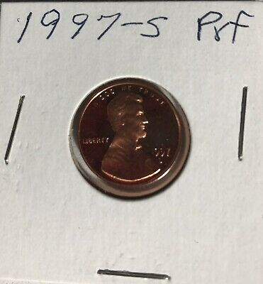 1997-S 1c Proof Lincoln Memorial Cent