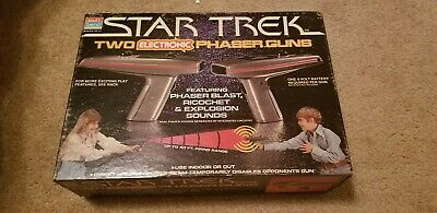 VINTAGE 70'S SOUTH BEND STAR TREK ELECTRONIC PHASER GUNS-Opened