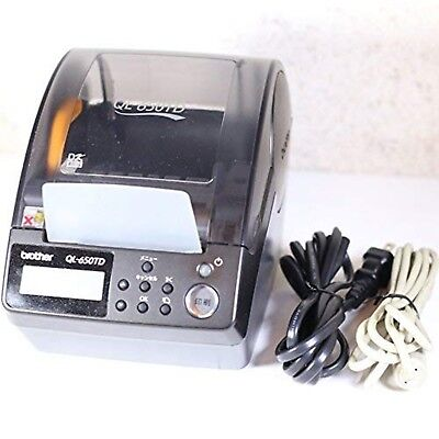 Brother PC mailing label printer P-touch QL-650TD JAPAN USED