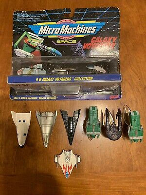 Micro Machines Galaxy Voyagers And Babylon 5 Lot