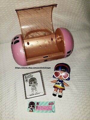 LOL Surprise Doll, Pop Heart, Under Wraps Series Authentic Doll ***Ultra Rare***