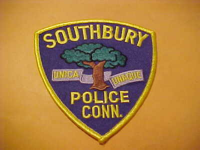 CT SOUTHBURY CONNECTICUT Police Patch - $5 57 | PicClick