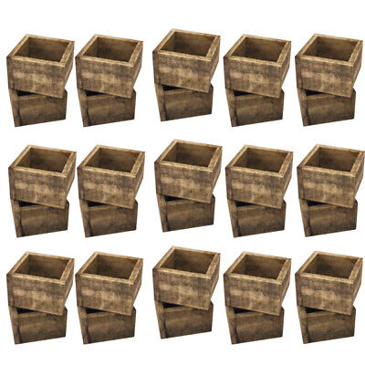 Bulk Buy 30 Small Distressed Cutlery Box Each With 4 Dl Menu Pockets