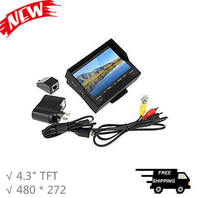"""Network Tester CCTV Camera Tester Monitor 4.3"""" TFT Wrist Type for Audio Video"""