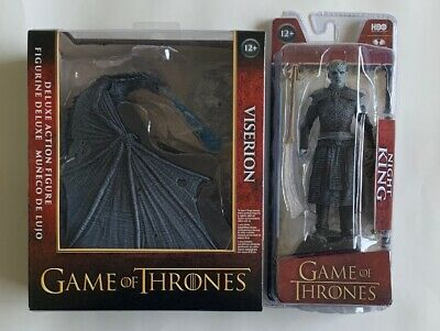McFarlane Toys Game Of Thrones Ice Dragon Viserion & Night King Deluxe Figure
