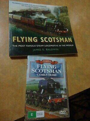 Flying Scotsman book and Dvd