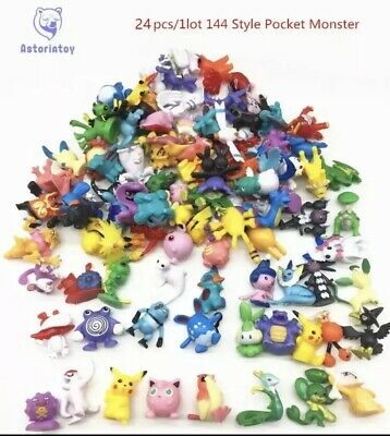 Pokemon Toy Figures Random No Duplicates 24PCs
