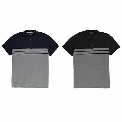 Loyalty & Faith Caines Polo Shirt Mens Collared Top Tee Charcoal Marl XX-Large