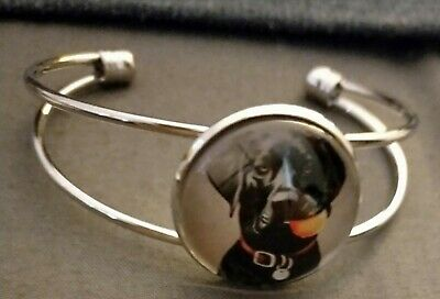 Black Labrador retriever dog  bracelet