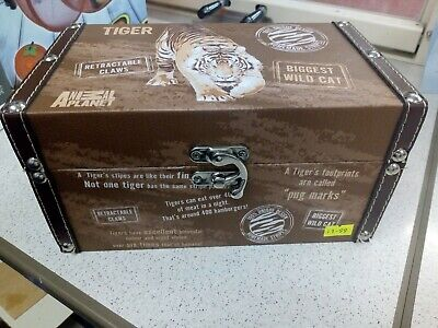 Brand New w/ Tags Animal Planet Small Brown Luggage Box (24x14x12cm Approx)
