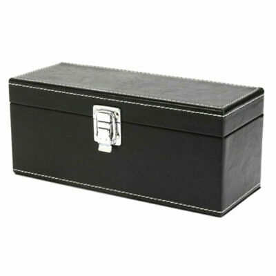 Storage Box Case Faux Leather For NGC PCGS ANACS Certified Coin Holders Slabs