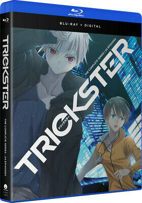 Trickster - Complete Series (Blu-Ray Disc, NEW, 2018 Funimation, 24 Episodes)