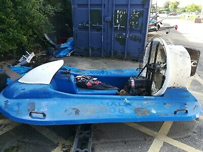 Hovercraft River Boat Spares or Repairs Barn Find project