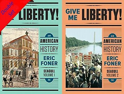 Give Me Liberty An American History Vol 1 & 2 5th Edition PDF file