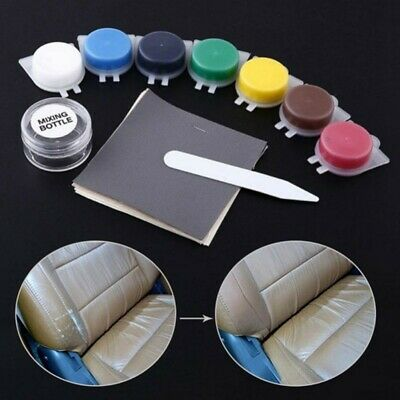 Car Leather Repair Glue Vinyl Color Paste For Car Seat Fur Sofa Repair Kit Tools