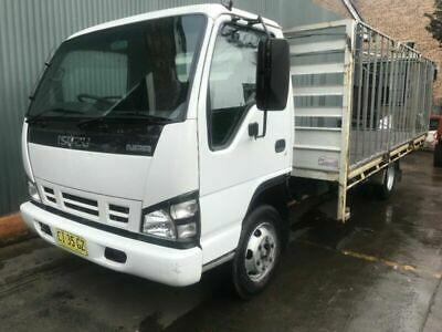 2007 Isuzu NPR 400 Table top truck with cage