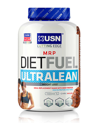 USN Diet Fuel Ultralean Meal Replacement Weight Loss whey Protein Slim Shake 1kg