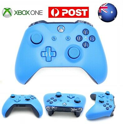AU Pure Blue Edition MS Xbox One Wireless Game Controller Gamepad With PhoneJack