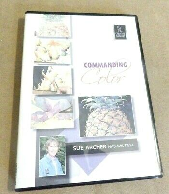 Commanding Color with Sue Archer  Watercolor Art Education DVD  FREE US SHIPPING