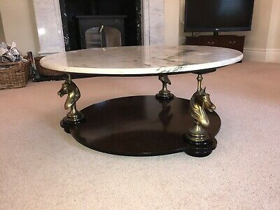 Marble Coffee Table By Maison Charles