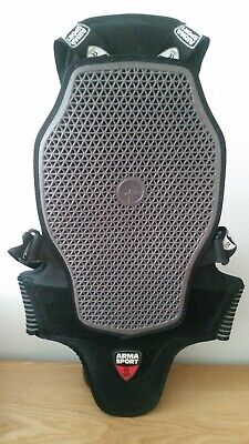 Forcefield Arma Sports Back Protector Medium Level B2 Motorcycle Snowboarding