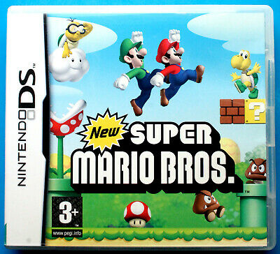 New Super Mario Bros. Nintendo DS, DSi, Lite, 3DS, 2DS, XL, FREE 1st CLASS POST